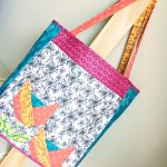 Dutch Tulips Quilted Bag