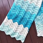 Crochet: Lacy Chevron Wrap