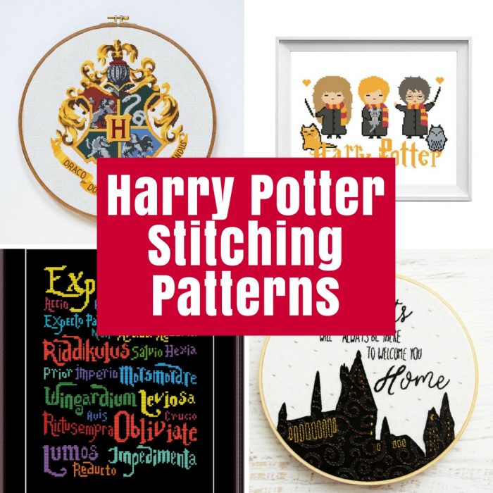 Harry Potter Stitching Patterns The Crafty Mummy
