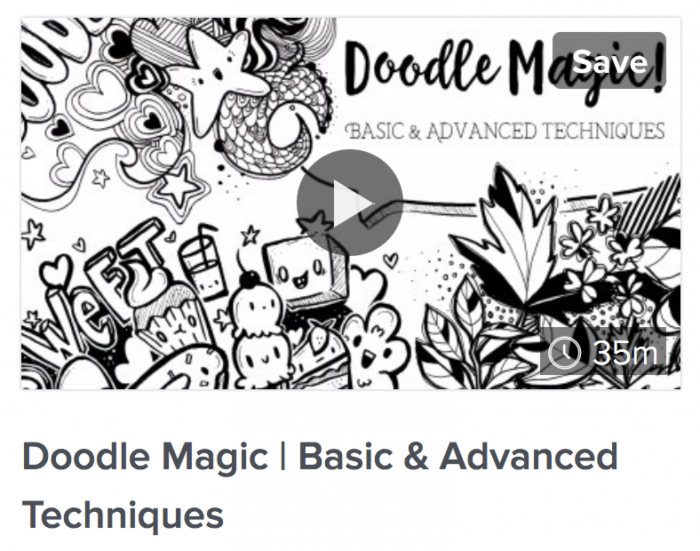 Doodle Magic Basic & Advanced Techniques