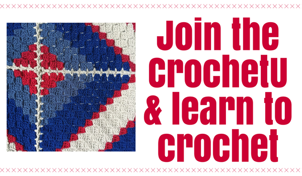 Join the CrochetU and learn to crochet